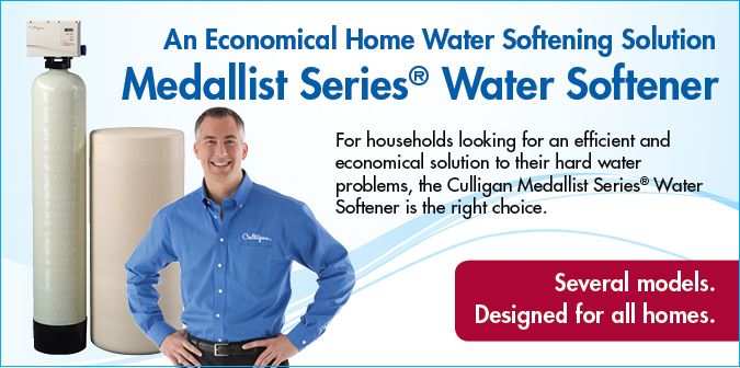 An economical home water softening solution, medallist series water softener