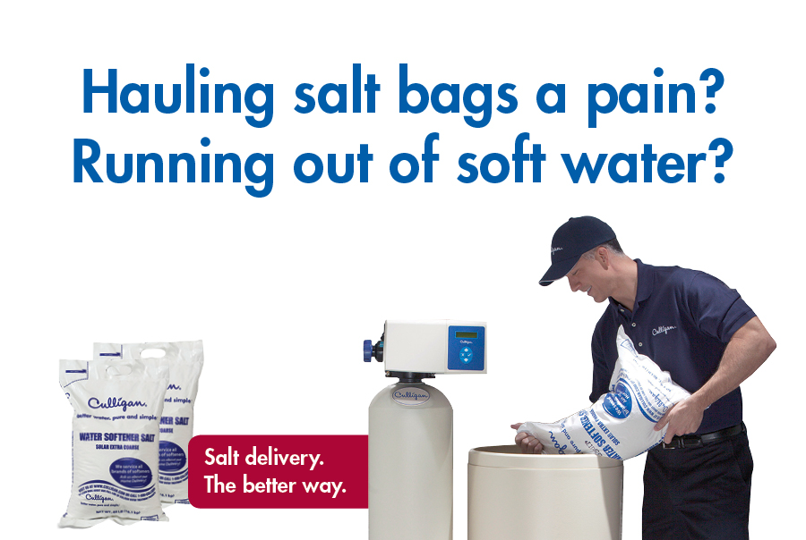 Convenient Softener Salt Delivery Amp Service Culligan Water