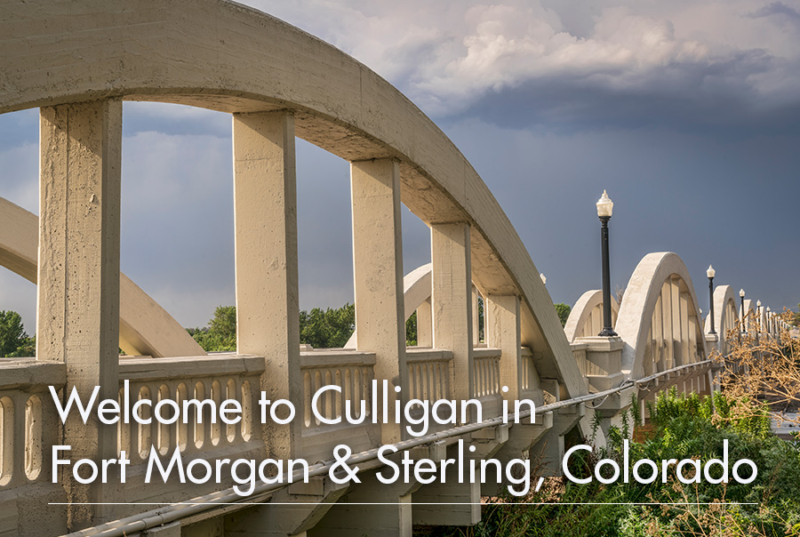 Welcome to Culligan in Fort Morgan & Sterling, Colorado